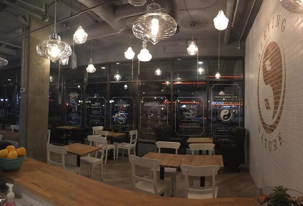 """Photo of Nulife Living Food Cafe  by <a href=""""/members/profile/scocasso"""">scocasso</a> <br/>Seating and nice large windows <br/> April 23, 2017  - <a href='/contact/abuse/image/90925/251599'>Report</a>"""