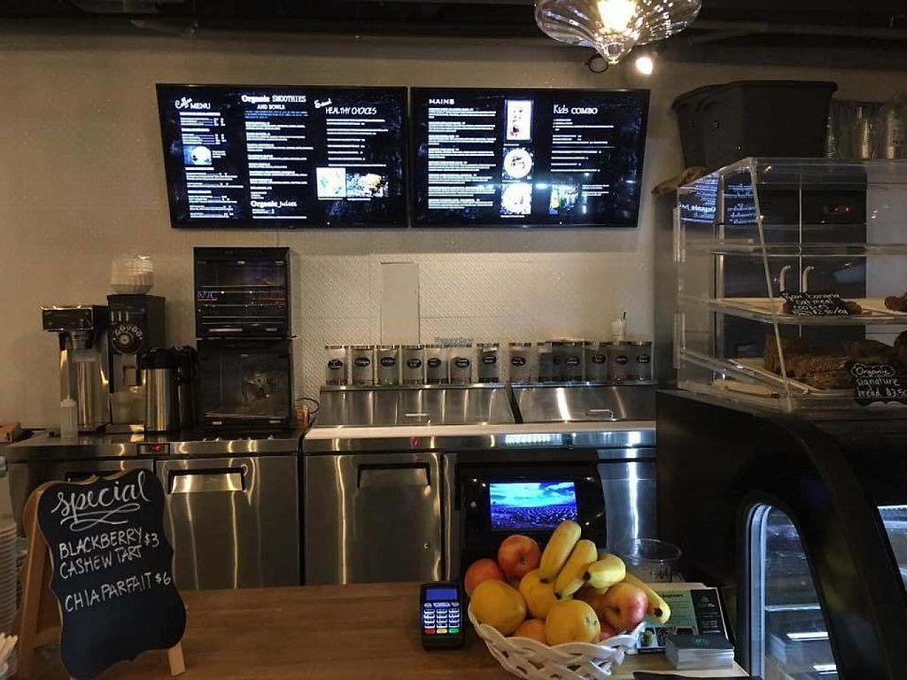 """Photo of Nulife Living Food Cafe  by <a href=""""/members/profile/scocasso"""">scocasso</a> <br/>Front counter <br/> April 23, 2017  - <a href='/contact/abuse/image/90925/251600'>Report</a>"""