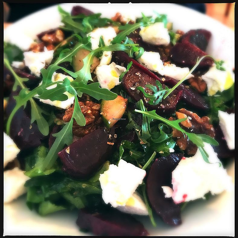 "Photo of The Fuchsia Caffe  by <a href=""/members/profile/SamRadion"">SamRadion</a> <br/>Beetroot Summer salad with feta <br/> January 2, 2018  - <a href='/contact/abuse/image/90966/341992'>Report</a>"