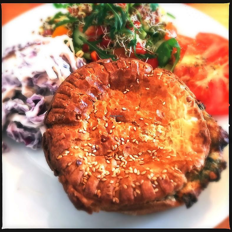 "Photo of The Fuchsia Caffe  by <a href=""/members/profile/SamRadion"">SamRadion</a> <br/>Coronation vegetable pie <br/> January 2, 2018  - <a href='/contact/abuse/image/90966/341993'>Report</a>"