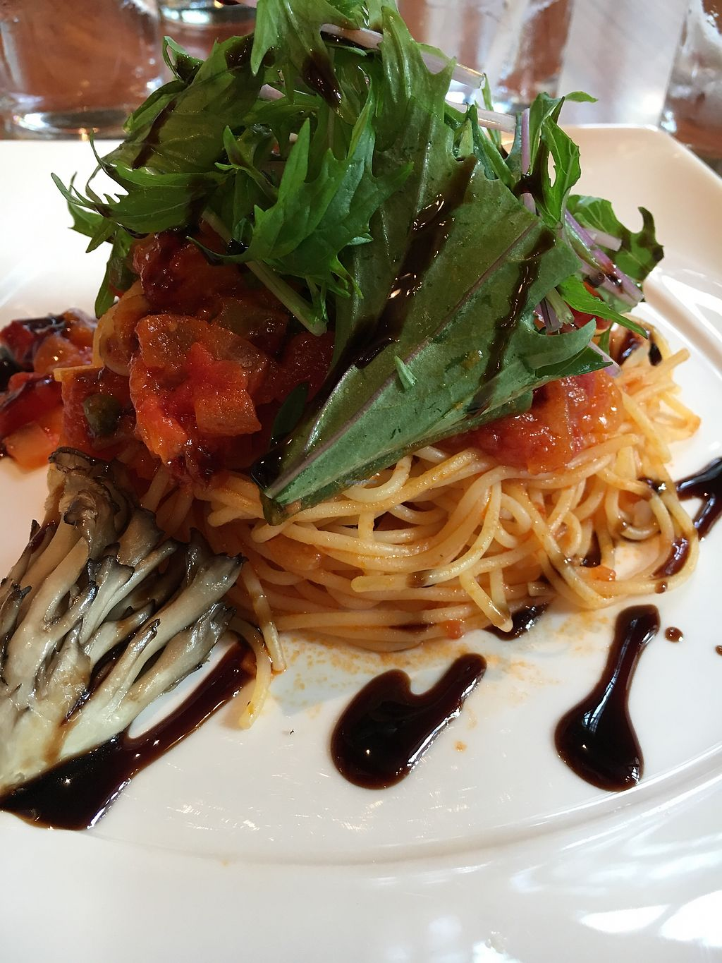 """Photo of Disneyland - Eastside Cafe  by <a href=""""/members/profile/VeganBec"""">VeganBec</a> <br/>Vegan Spaghetti <br/> April 12, 2018  - <a href='/contact/abuse/image/90978/384510'>Report</a>"""