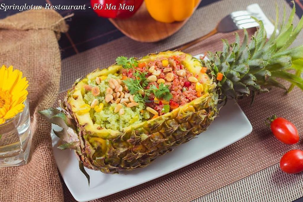 "Photo of CLOSED: Spring Lotus - Duong Sinh Chay  by <a href=""/members/profile/josephkhue"">josephkhue</a> <br/>Fried rice with pineapple <br/> May 7, 2017  - <a href='/contact/abuse/image/90983/256663'>Report</a>"