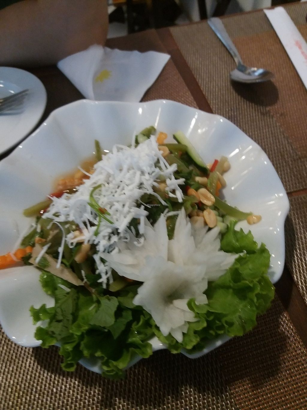 "Photo of CLOSED: Spring Lotus - Duong Sinh Chay  by <a href=""/members/profile/veganvirtues"">veganvirtues</a> <br/>Salad withroot vegetables <br/> May 20, 2017  - <a href='/contact/abuse/image/90983/260561'>Report</a>"