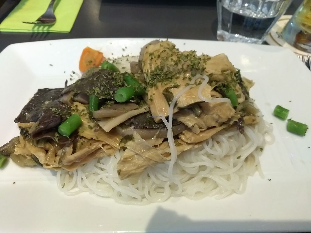 """Photo of Anna's Lunchroom  by <a href=""""/members/profile/thenaturalfusions"""">thenaturalfusions</a> <br/>Buddha's favorite: various asian pickled veggies with rice noodles (vegan) 9,50 euros <br/> August 22, 2017  - <a href='/contact/abuse/image/90988/295804'>Report</a>"""