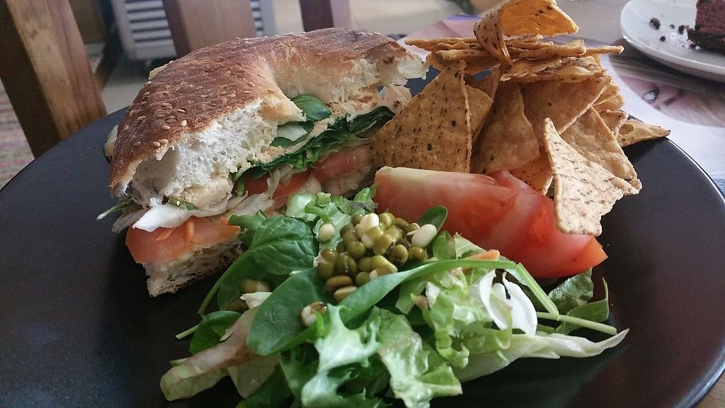 """Photo of Pash the Healthy Options   by <a href=""""/members/profile/Rosa%20veg"""">Rosa veg</a> <br/>Vegan sandwich  <br/> April 24, 2017  - <a href='/contact/abuse/image/90997/252142'>Report</a>"""