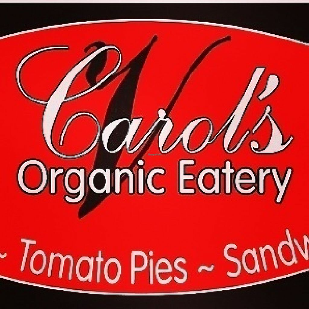 "Photo of Carol's Organic Eatery   by <a href=""/members/profile/Donato"">Donato</a> <br/>Sign <br/> May 6, 2017  - <a href='/contact/abuse/image/91037/256025'>Report</a>"