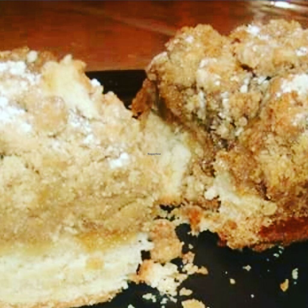 "Photo of Carol's Organic Eatery   by <a href=""/members/profile/Donato"">Donato</a> <br/>Crumb cake 