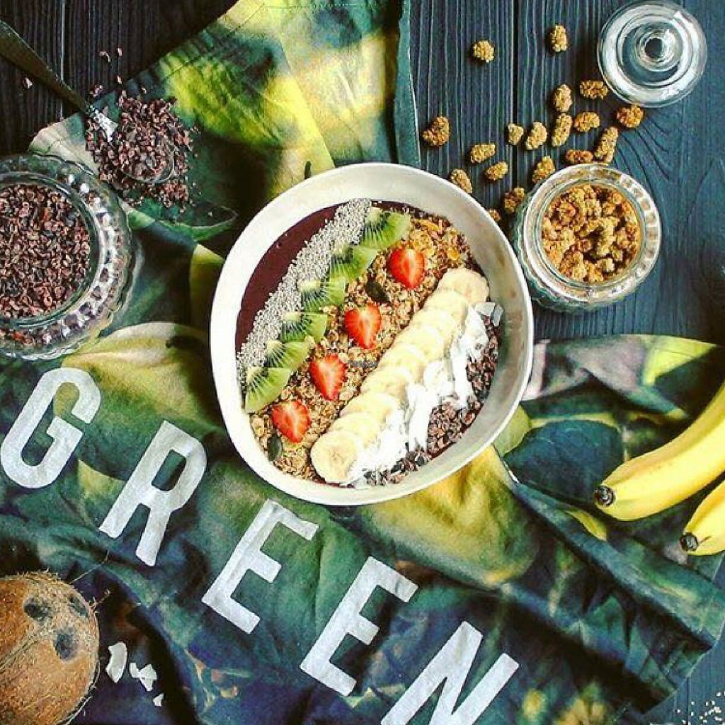 """Photo of THE GREEN  by <a href=""""/members/profile/Walz"""">Walz</a> <br/>First Açaí Bowl in Nuremberg! <br/> April 25, 2017  - <a href='/contact/abuse/image/91039/252476'>Report</a>"""