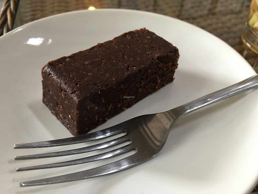 "Photo of Freak Coffee  by <a href=""/members/profile/samesamebutvegan"">samesamebutvegan</a> <br/>Raw brownie  <br/> January 21, 2018  - <a href='/contact/abuse/image/91047/349246'>Report</a>"
