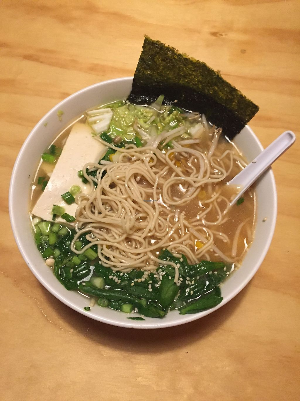 "Photo of Komatsu Ramen  by <a href=""/members/profile/alexis17"">alexis17</a> <br/>Vegan Ramen Bowl  <br/> December 18, 2017  - <a href='/contact/abuse/image/91049/337013'>Report</a>"