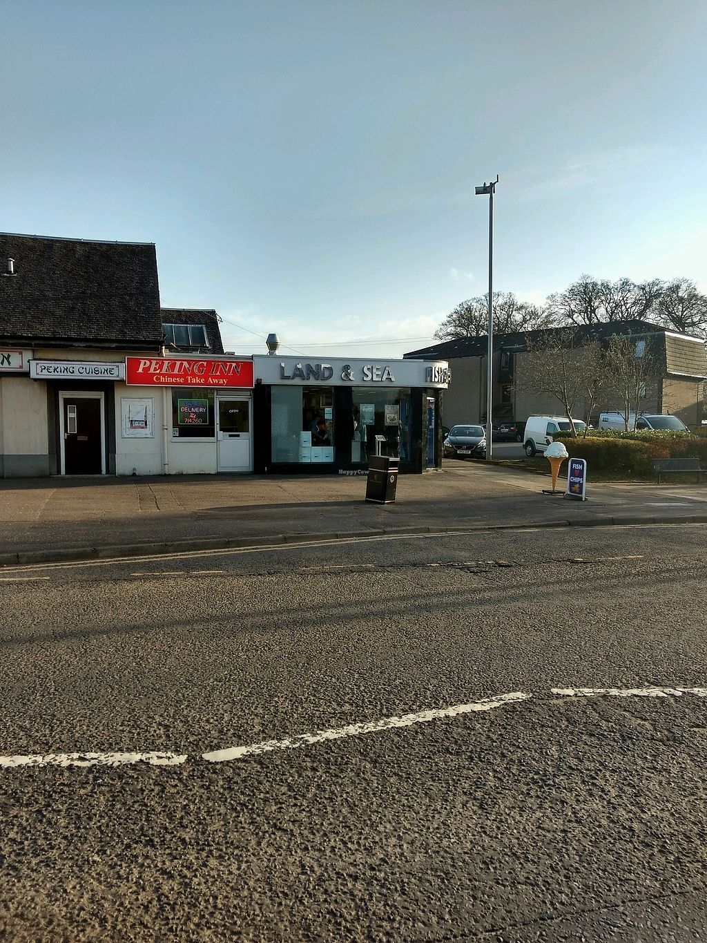 """Photo of Land and Sea Fish and Chip Shop  by <a href=""""/members/profile/craigmc"""">craigmc</a> <br/>over the road <br/> April 17, 2018  - <a href='/contact/abuse/image/91076/387369'>Report</a>"""