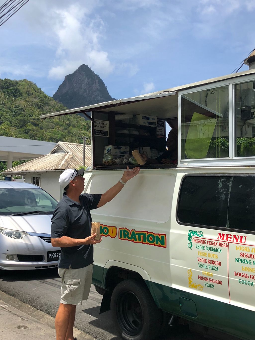 """Photo of Sa Nou Iration Food Truck  by <a href=""""/members/profile/meefamily"""">meefamily</a> <br/>The awesome food truck with food lovingly made by Sharon <br/> May 16, 2018  - <a href='/contact/abuse/image/91090/400575'>Report</a>"""