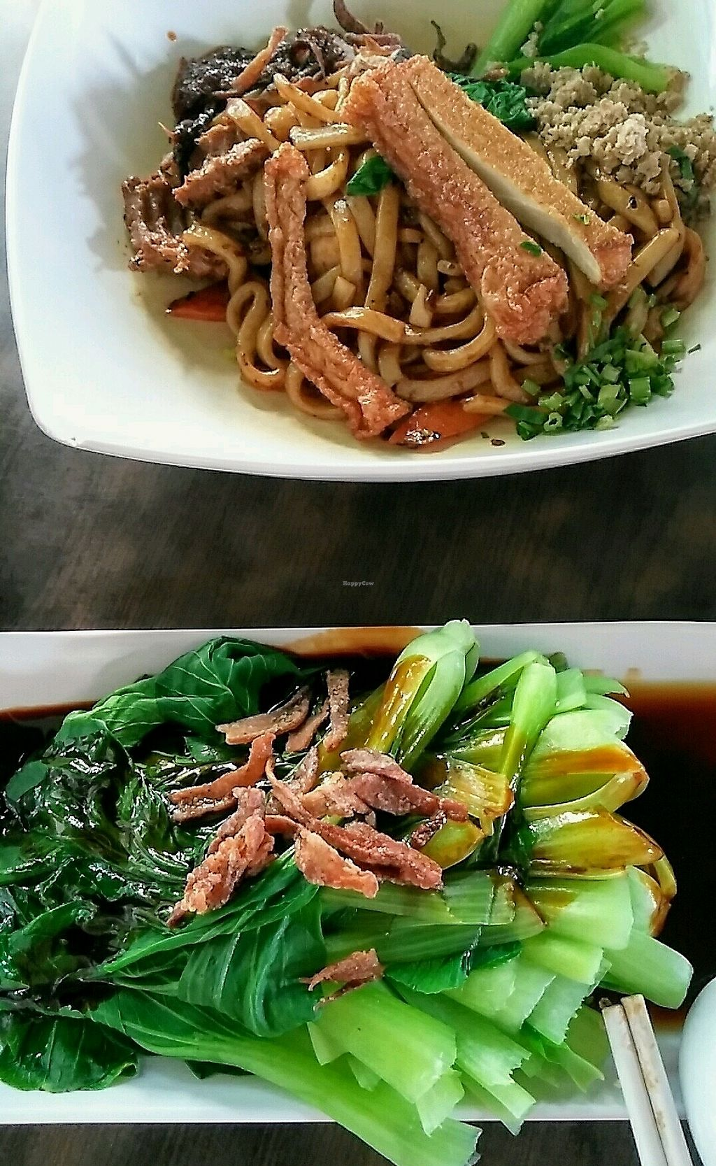 """Photo of Rice House  by <a href=""""/members/profile/taro1000"""">taro1000</a> <br/>Noodle & green veggies <br/> January 27, 2018  - <a href='/contact/abuse/image/9109/351394'>Report</a>"""