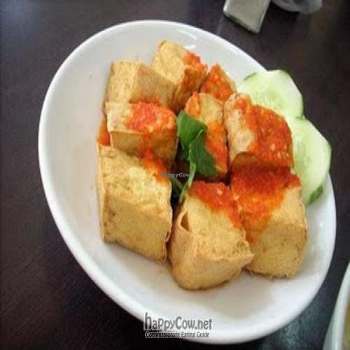 """Photo of Rice House  by <a href=""""/members/profile/Peace%20..."""">Peace ...</a> <br/>Deep-fried Tofu with Thai Sweet Chilli Sauce <br/> March 24, 2010  - <a href='/contact/abuse/image/9109/4076'>Report</a>"""