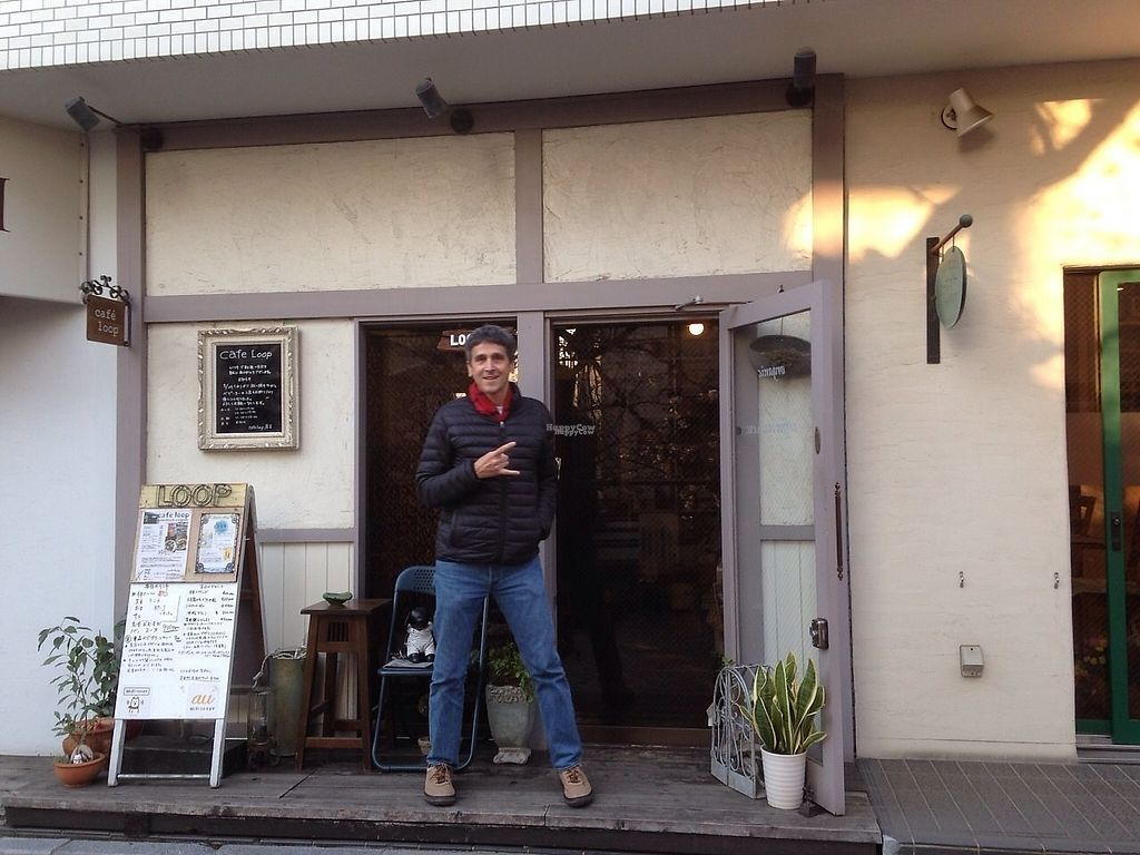 "Photo of Cafe Loop  by <a href=""/members/profile/VeganDietGuy"">VeganDietGuy</a> <br/>So happy to find this cute vegan organic cafe near Musashikosugi station <br/> April 27, 2017  - <a href='/contact/abuse/image/91105/253033'>Report</a>"