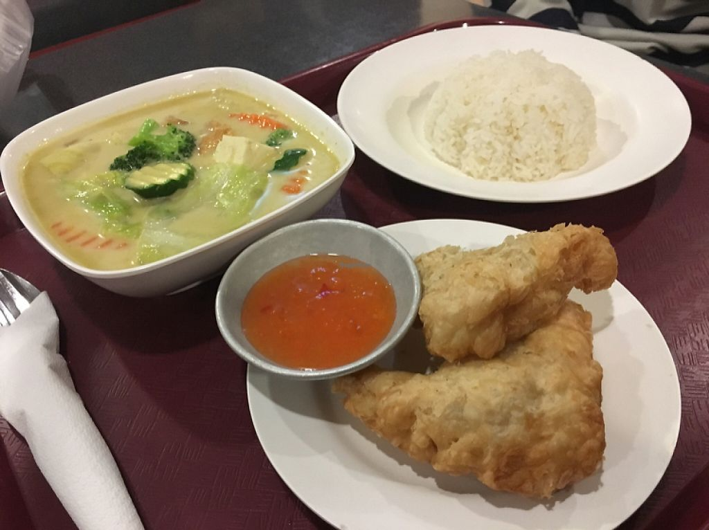 "Photo of Ponsonby Food Court  by <a href=""/members/profile/Yolanda"">Yolanda</a> <br/>Thai green curry with gari puffs filled with pumpkin and kumara  <br/> May 15, 2017  - <a href='/contact/abuse/image/91106/258936'>Report</a>"