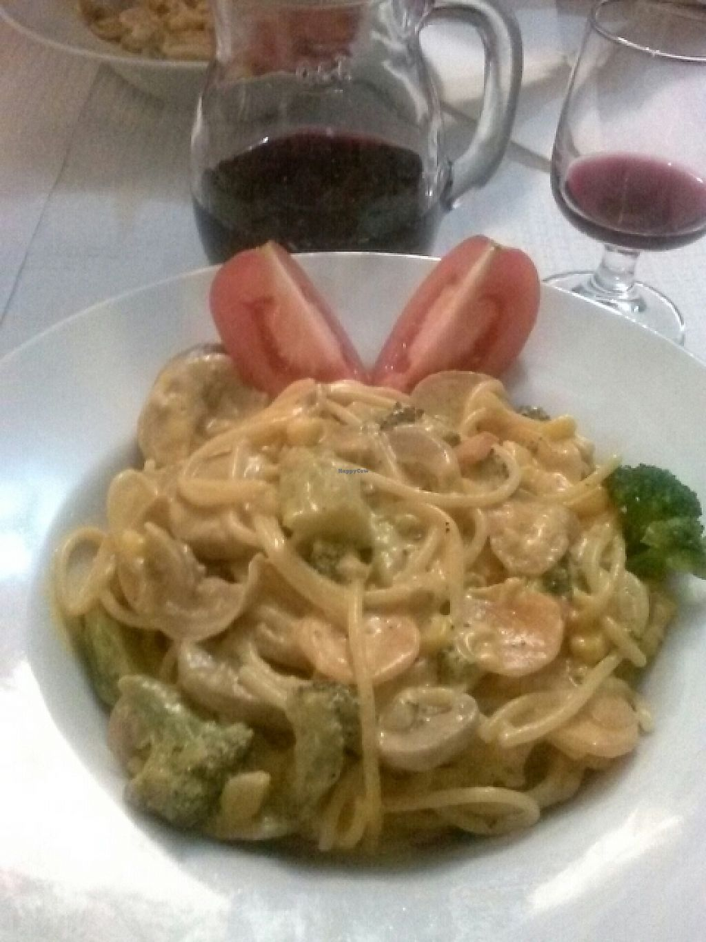 """Photo of Restaurante Planicie  by <a href=""""/members/profile/DODIBOSSAS"""">DODIBOSSAS</a> <br/>Pasta with vegetables and soy cream <br/> May 10, 2017  - <a href='/contact/abuse/image/91114/257664'>Report</a>"""