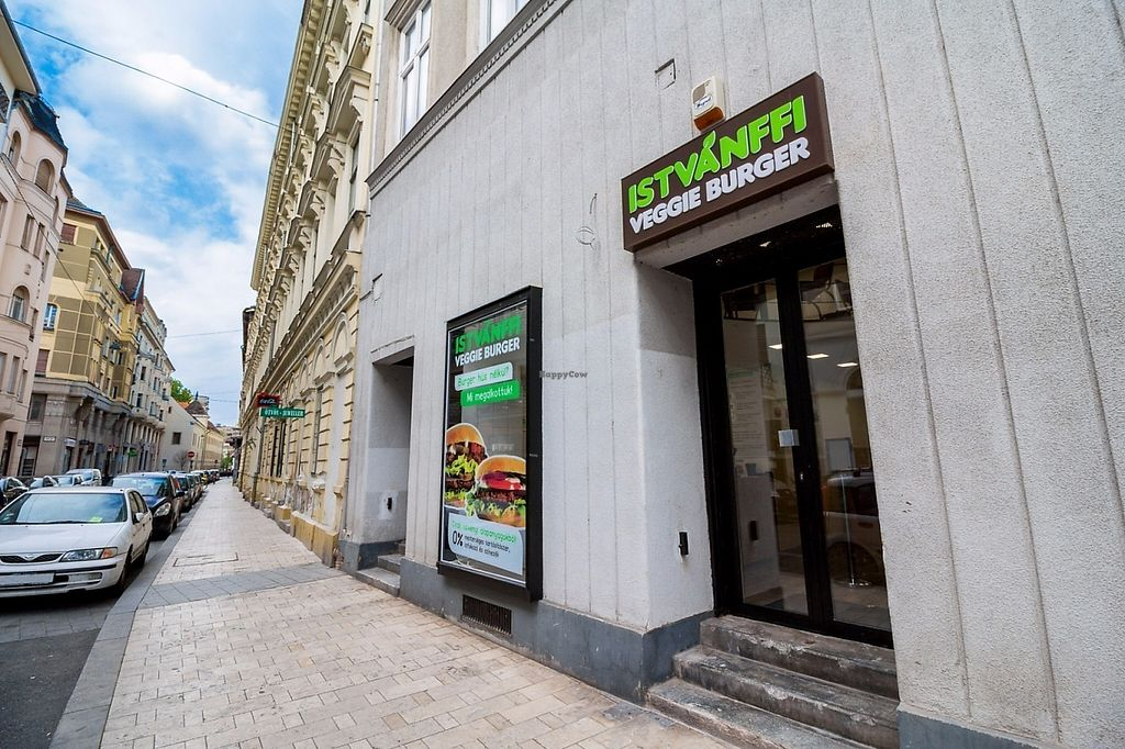 """Photo of Istvanffi Veggie Burger - Downtown  by <a href=""""/members/profile/l.andris14"""">l.andris14</a> <br/>Vegan Burger - Istvánffi Veggie Burger <br/> May 2, 2017  - <a href='/contact/abuse/image/91118/254944'>Report</a>"""