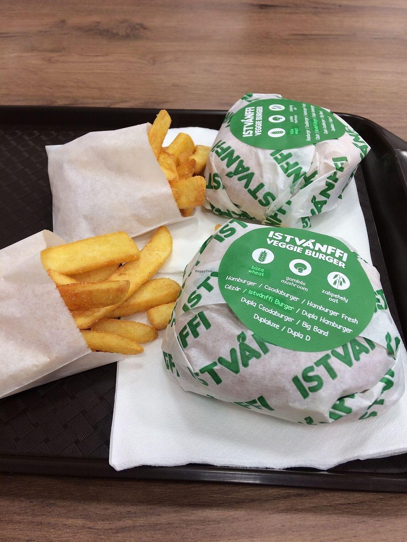 "Photo of Istvanffi Veggie Burger - Downtown  by <a href=""/members/profile/teresaveg"">teresaveg</a> <br/>vegan burgers <br/> November 14, 2017  - <a href='/contact/abuse/image/91118/325554'>Report</a>"