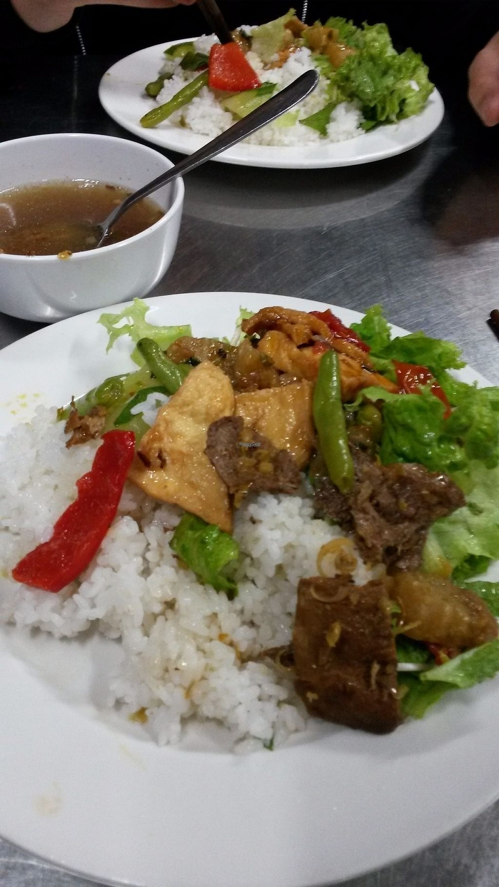 """Photo of Chua Tu Lam  by <a href=""""/members/profile/Blupi"""">Blupi</a> <br/>Ask for a plate: if you don't specify what you want in she gonna put a bit of everything. perfect to discover this food! <br/> April 27, 2017  - <a href='/contact/abuse/image/91124/253063'>Report</a>"""