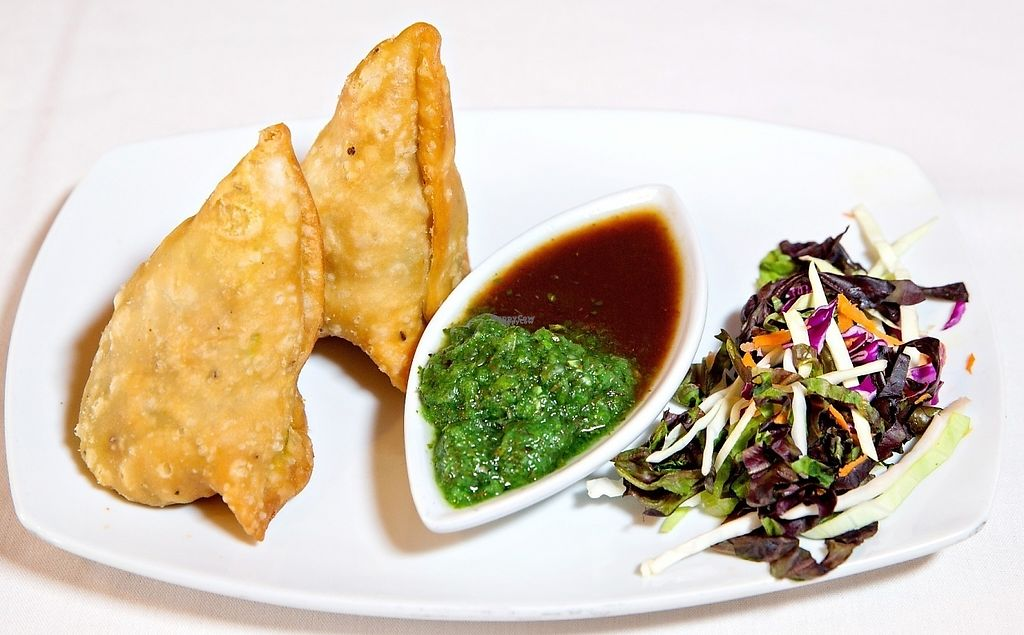 """Photo of Rajput Indian Cuisine  by <a href=""""/members/profile/usarajput"""">usarajput</a> <br/>Sabz Samosa ( Vegetable Triangular Patties) <br/> January 7, 2017  - <a href='/contact/abuse/image/9113/209169'>Report</a>"""