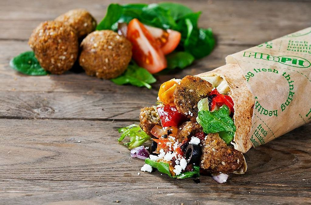 """Photo of Pita Pit  by <a href=""""/members/profile/LaxmiKonwar"""">LaxmiKonwar</a> <br/>Mouthwatering Falafel Pita  <br/> May 5, 2017  - <a href='/contact/abuse/image/91152/255678'>Report</a>"""