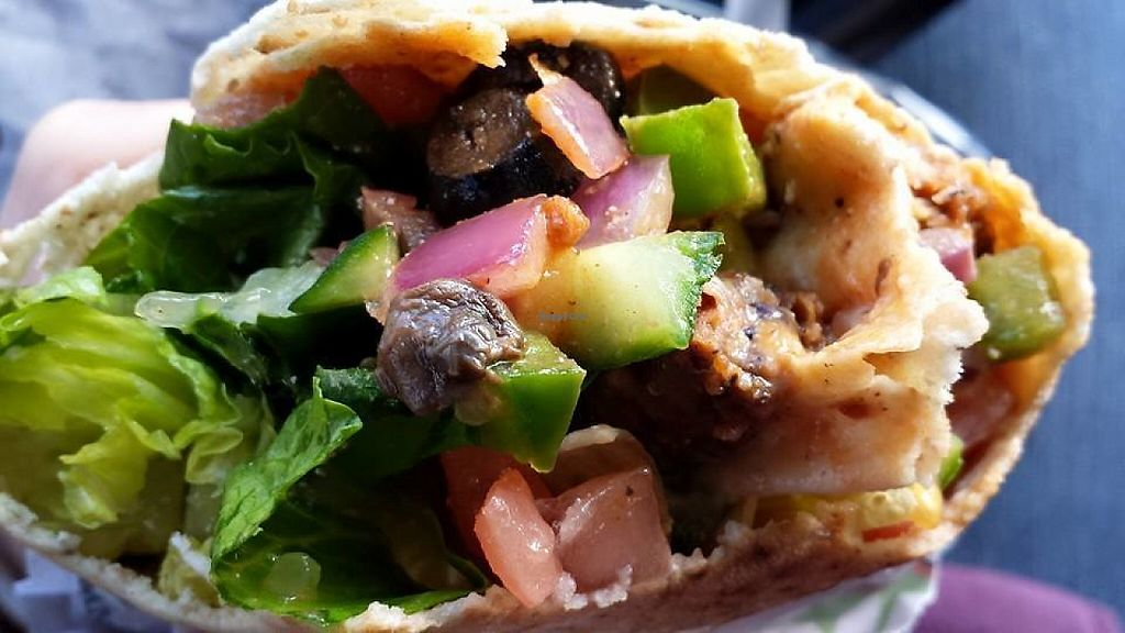 """Photo of Pita Pit  by <a href=""""/members/profile/LaxmiKonwar"""">LaxmiKonwar</a> <br/>Black bean in whole wheat pita bread <br/> May 5, 2017  - <a href='/contact/abuse/image/91152/255679'>Report</a>"""