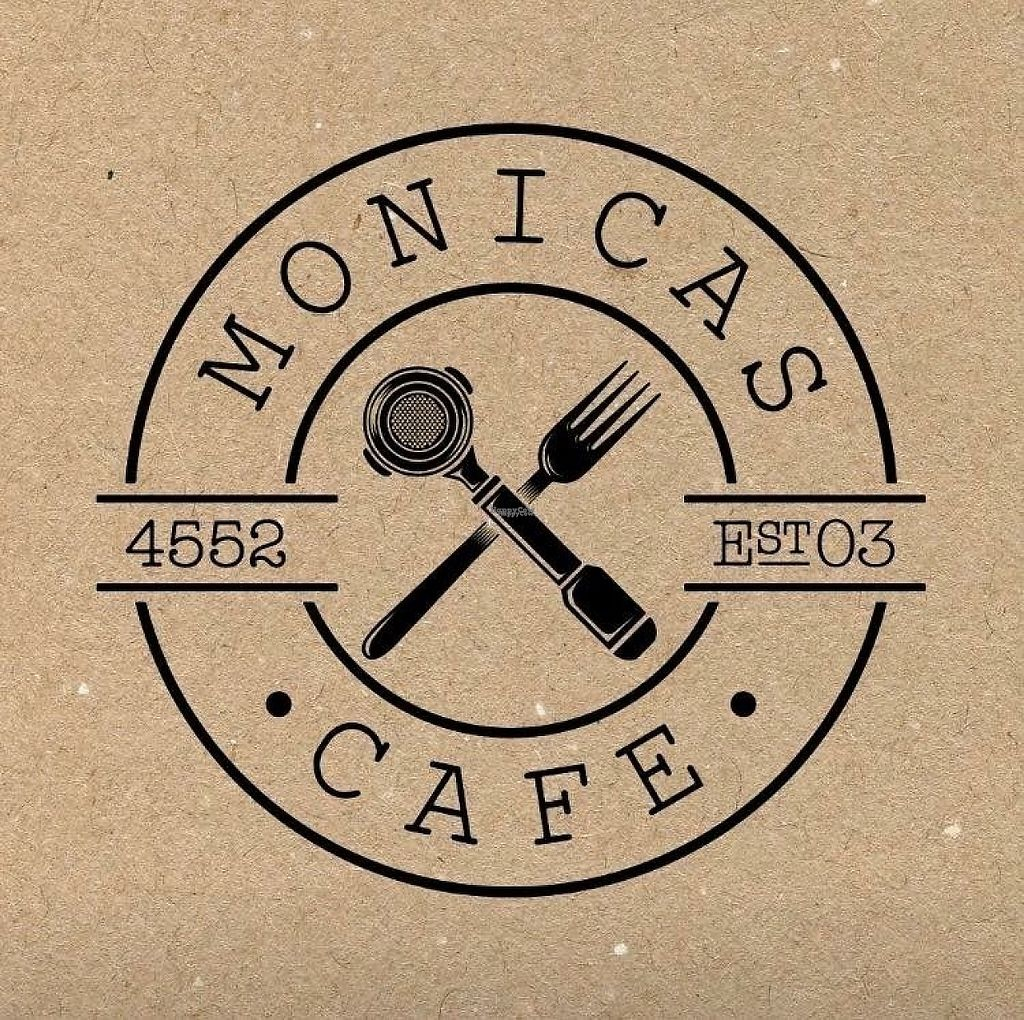 """Photo of Monica's Cafe & Dining  by <a href=""""/members/profile/Ladylock"""">Ladylock</a> <br/>Logo <br/> April 26, 2017  - <a href='/contact/abuse/image/91154/252873'>Report</a>"""