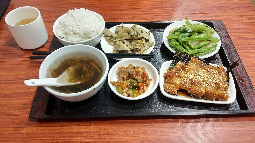 "Photo of HeYa Penglai Vegetarian Restaurant  by <a href=""/members/profile/ultm8"">ultm8</a> <br/>Fish mock meat dinner set <br/> April 28, 2017  - <a href='/contact/abuse/image/91164/253302'>Report</a>"