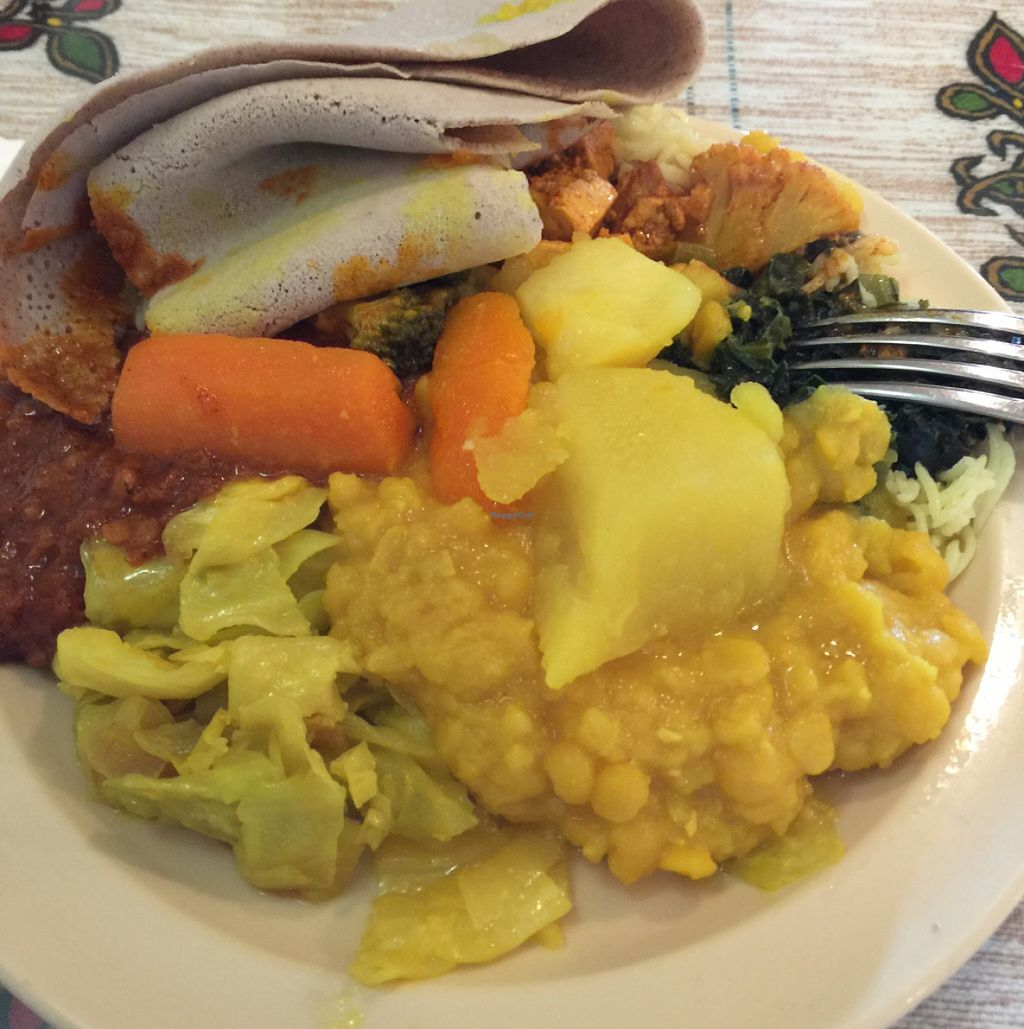 "Photo of Queen Sheba  by <a href=""/members/profile/sncpapa"">sncpapa</a> <br/>from vegan lunch buffet <br/> May 6, 2016  - <a href='/contact/abuse/image/9116/147755'>Report</a>"