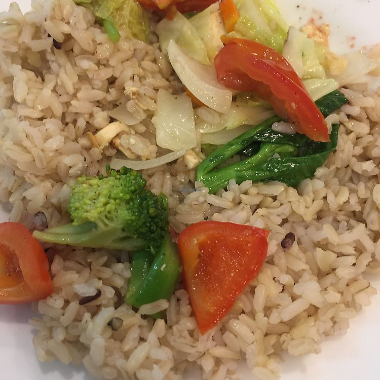 "Photo of Love Forest  by <a href=""/members/profile/Shemille"">Shemille</a> <br/>stir fry veg and brown rice. simple but delicious!  <br/> August 5, 2017  - <a href='/contact/abuse/image/91188/288981'>Report</a>"