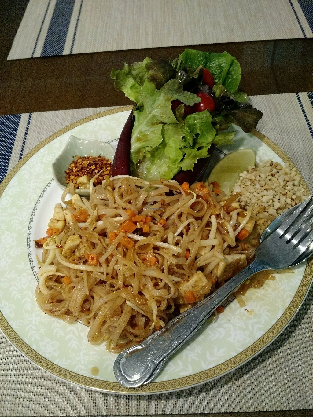 "Photo of Love Forest  by <a href=""/members/profile/TiffEats"">TiffEats</a> <br/>Pad Thai - love that it came with little salad <br/> December 4, 2017  - <a href='/contact/abuse/image/91188/332247'>Report</a>"