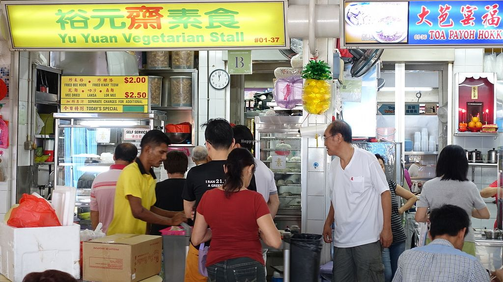 "Photo of Yu Yuan Vegetarian Stall  by <a href=""/members/profile/JimmySeah"">JimmySeah</a> <br/>Queue in front of Stall <br/> June 25, 2017  - <a href='/contact/abuse/image/91200/273157'>Report</a>"