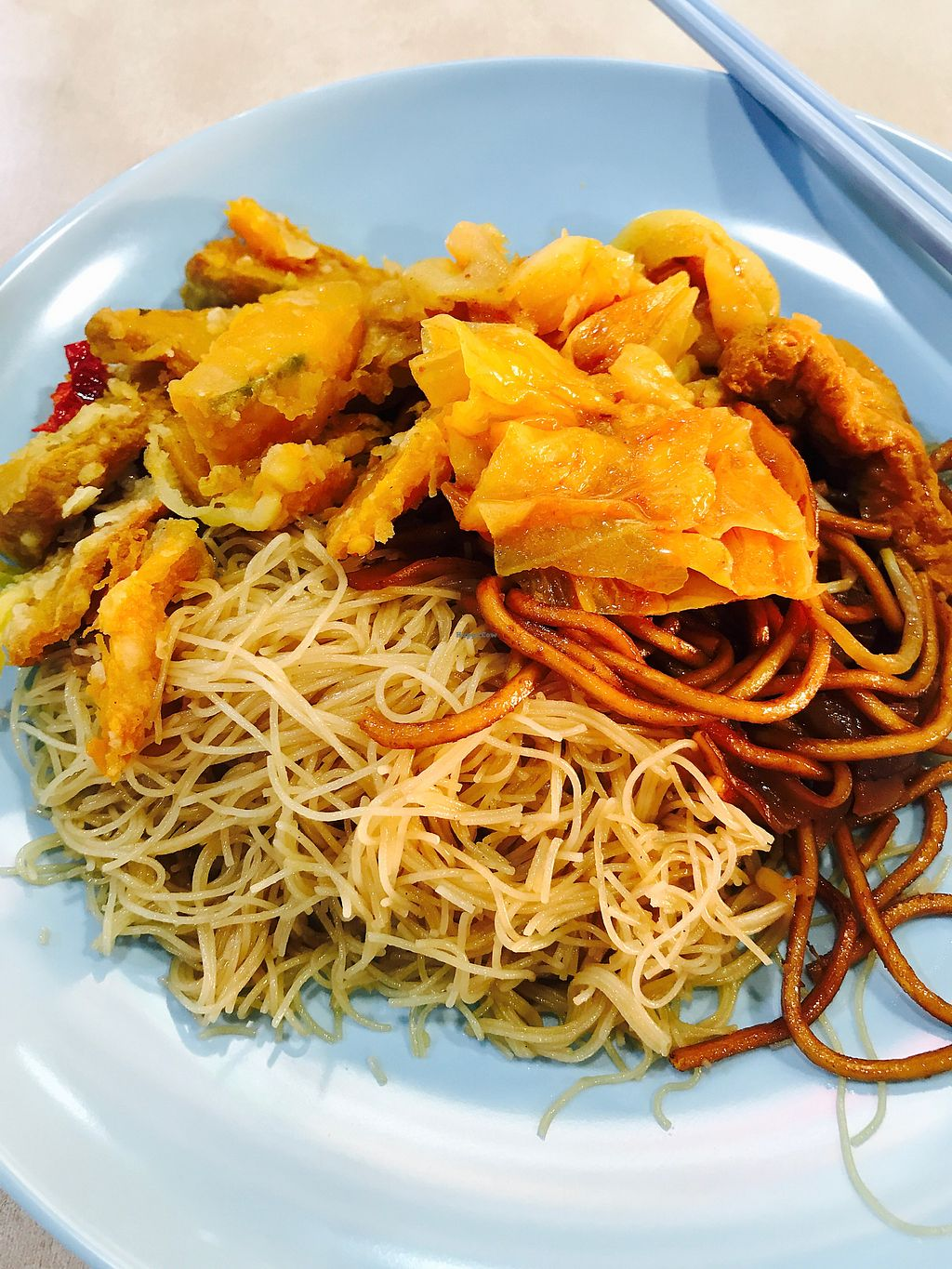 """Photo of Econ Vegetarian Delights  by <a href=""""/members/profile/Happy16"""">Happy16</a> <br/>Mee and Mee Hoon <br/> June 29, 2017  - <a href='/contact/abuse/image/91202/274572'>Report</a>"""