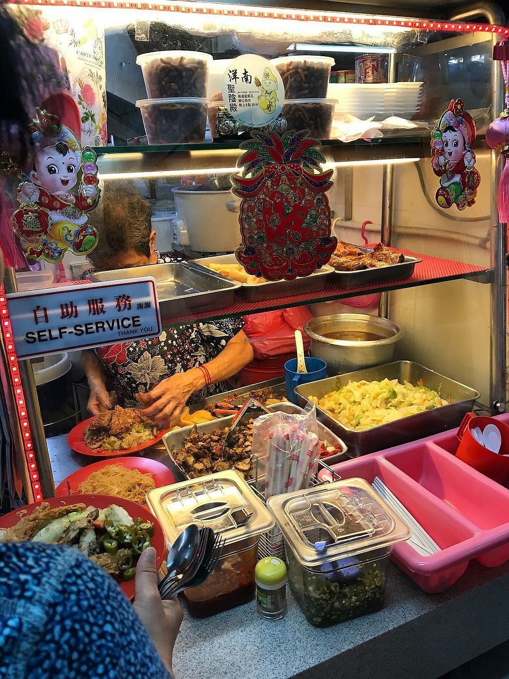 "Photo of Miao Guan Vegetarian Stall  by <a href=""/members/profile/CherylQuincy"">CherylQuincy</a> <br/>Food prep  <br/> February 10, 2018  - <a href='/contact/abuse/image/91204/357128'>Report</a>"