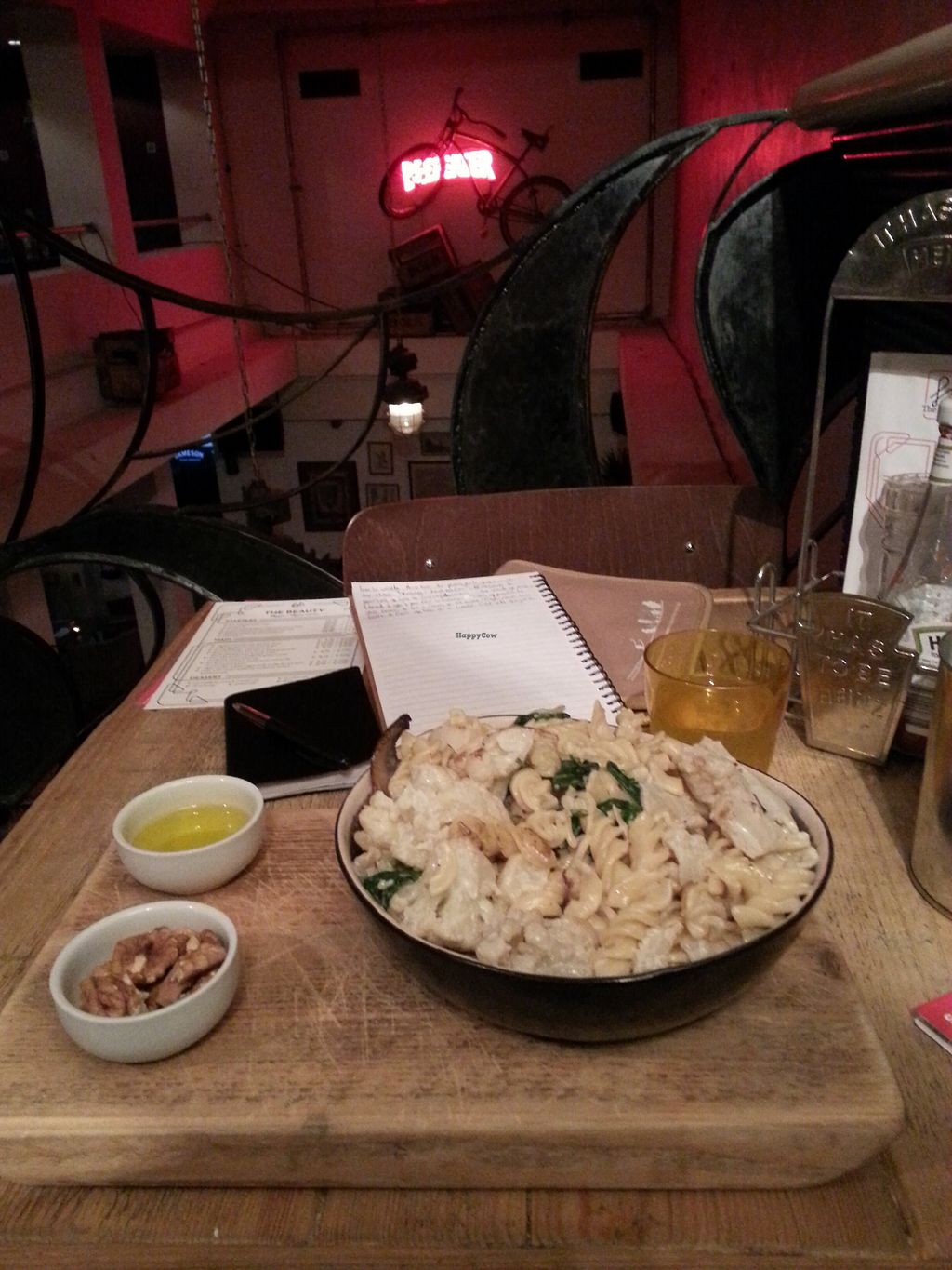 "Photo of The Lab  by <a href=""/members/profile/ManueEmmaLeTllc"">ManueEmmaLeTllc</a> <br/>creamy cauliflower pasta, with olive oil and nuts <br/> August 9, 2017  - <a href='/contact/abuse/image/91207/290859'>Report</a>"