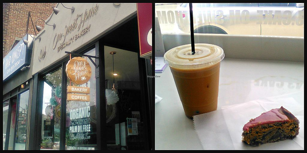 """Photo of Om Sweet Home  by <a href=""""/members/profile/V%CE%B5G%CE%9B%E2%98%A5G%CE%9BL"""">VεGΛ☥GΛL</a> <br/>cold brew with a seasonal sliced cake <br/> February 16, 2018  - <a href='/contact/abuse/image/91256/359854'>Report</a>"""