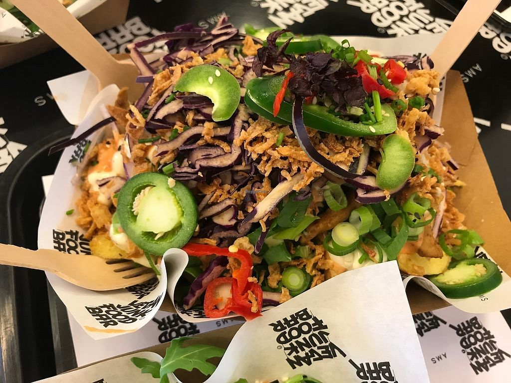 "Photo of Vegan Junk Food Bar - Staringplein  by <a href=""/members/profile/MarkoObradovic"">MarkoObradovic</a> <br/>Loaded Fries <br/> November 25, 2017  - <a href='/contact/abuse/image/91275/328971'>Report</a>"