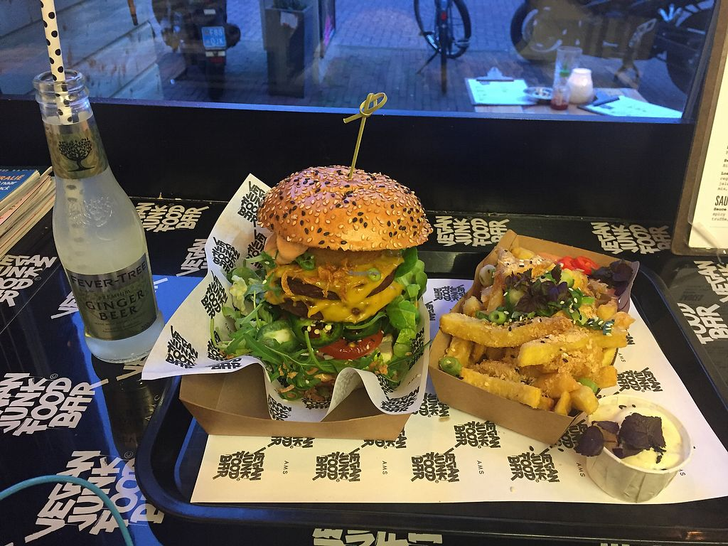 "Photo of Vegan Junk Food Bar - Staringplein  by <a href=""/members/profile/DellasLinnell"">DellasLinnell</a> <br/>Just Outrageously gooooood!!! <br/> January 2, 2018  - <a href='/contact/abuse/image/91275/342117'>Report</a>"