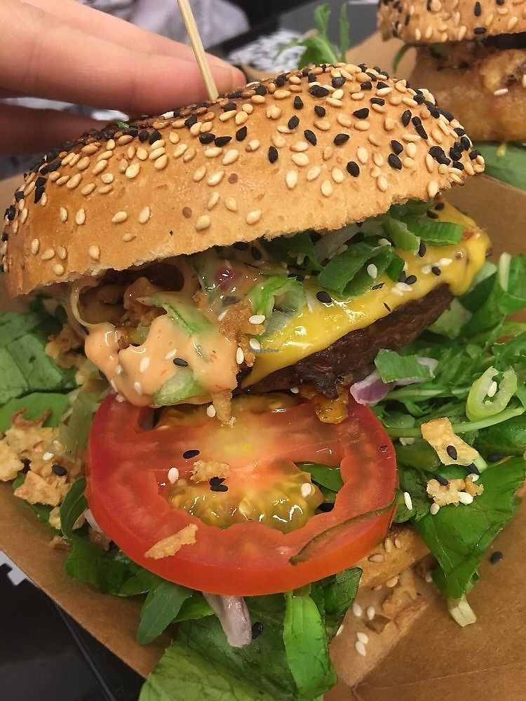 "Photo of Vegan Junk Food Bar - Staringplein  by <a href=""/members/profile/LaurenChambers"">LaurenChambers</a> <br/>burger <br/> February 6, 2018  - <a href='/contact/abuse/image/91275/355807'>Report</a>"