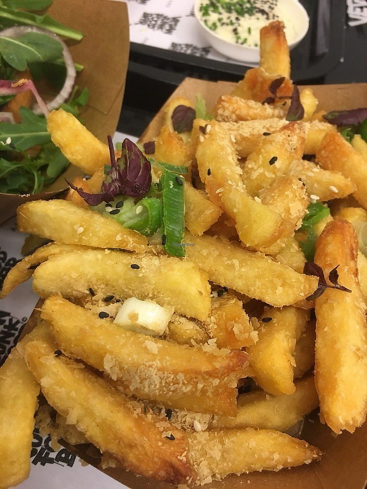 "Photo of Vegan Junk Food Bar - Staringplein  by <a href=""/members/profile/LaurenChambers"">LaurenChambers</a> <br/>fries <br/> February 6, 2018  - <a href='/contact/abuse/image/91275/355808'>Report</a>"
