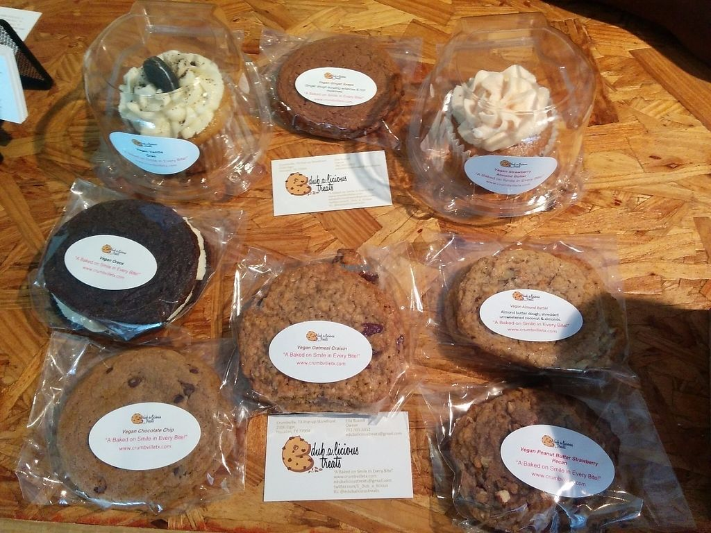 "Photo of Crumbville  by <a href=""/members/profile/MizzB"">MizzB</a> <br/>assorted vegan goodies for the day <br/> April 29, 2017  - <a href='/contact/abuse/image/91283/253809'>Report</a>"