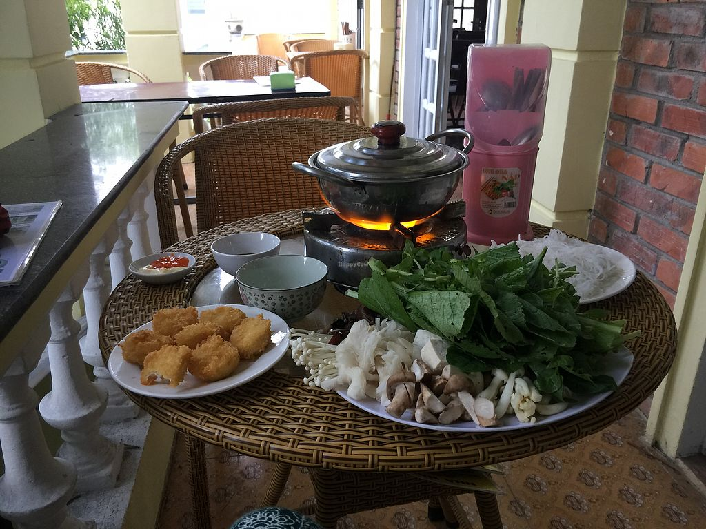 """Photo of An Nhien  by <a href=""""/members/profile/kimilloyd"""">kimilloyd</a> <br/>Hot pot and fried tofu <br/> October 18, 2017  - <a href='/contact/abuse/image/91296/316321'>Report</a>"""
