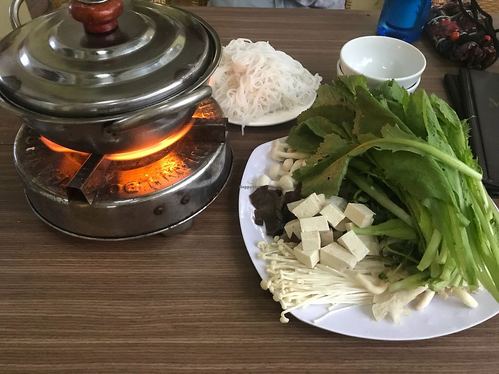 """Photo of An Nhien  by <a href=""""/members/profile/AnnaLevshin"""">AnnaLevshin</a> <br/>Mushroom hot pot- SO GOOD was 45k for 2 people <br/> April 14, 2018  - <a href='/contact/abuse/image/91296/385726'>Report</a>"""