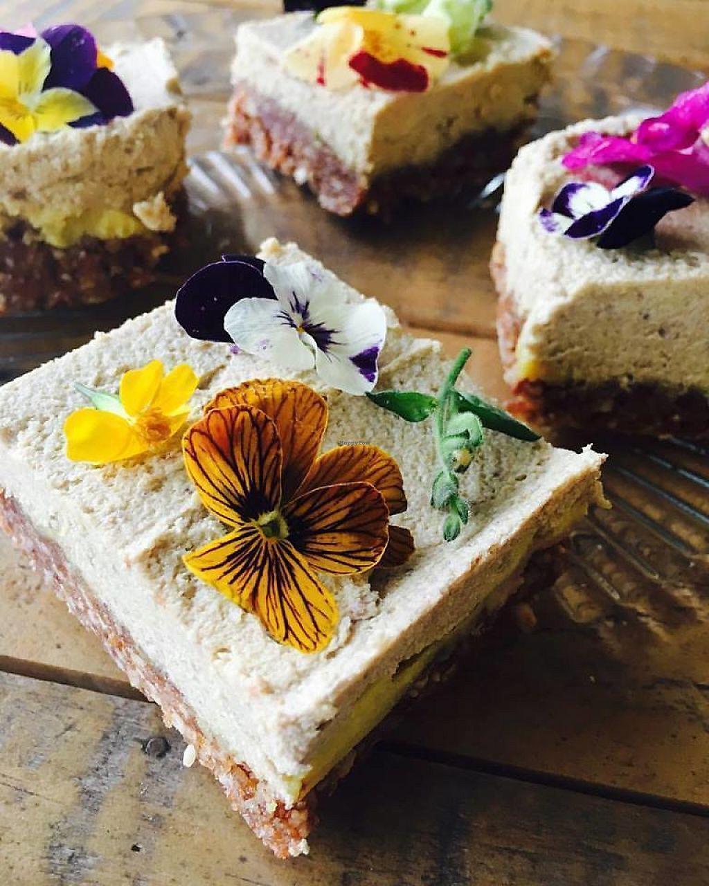 "Photo of The Organic Bee Cafe  by <a href=""/members/profile/community5"">community5</a> <br/>Raw vegan cheesecake <br/> May 12, 2017  - <a href='/contact/abuse/image/91300/258294'>Report</a>"
