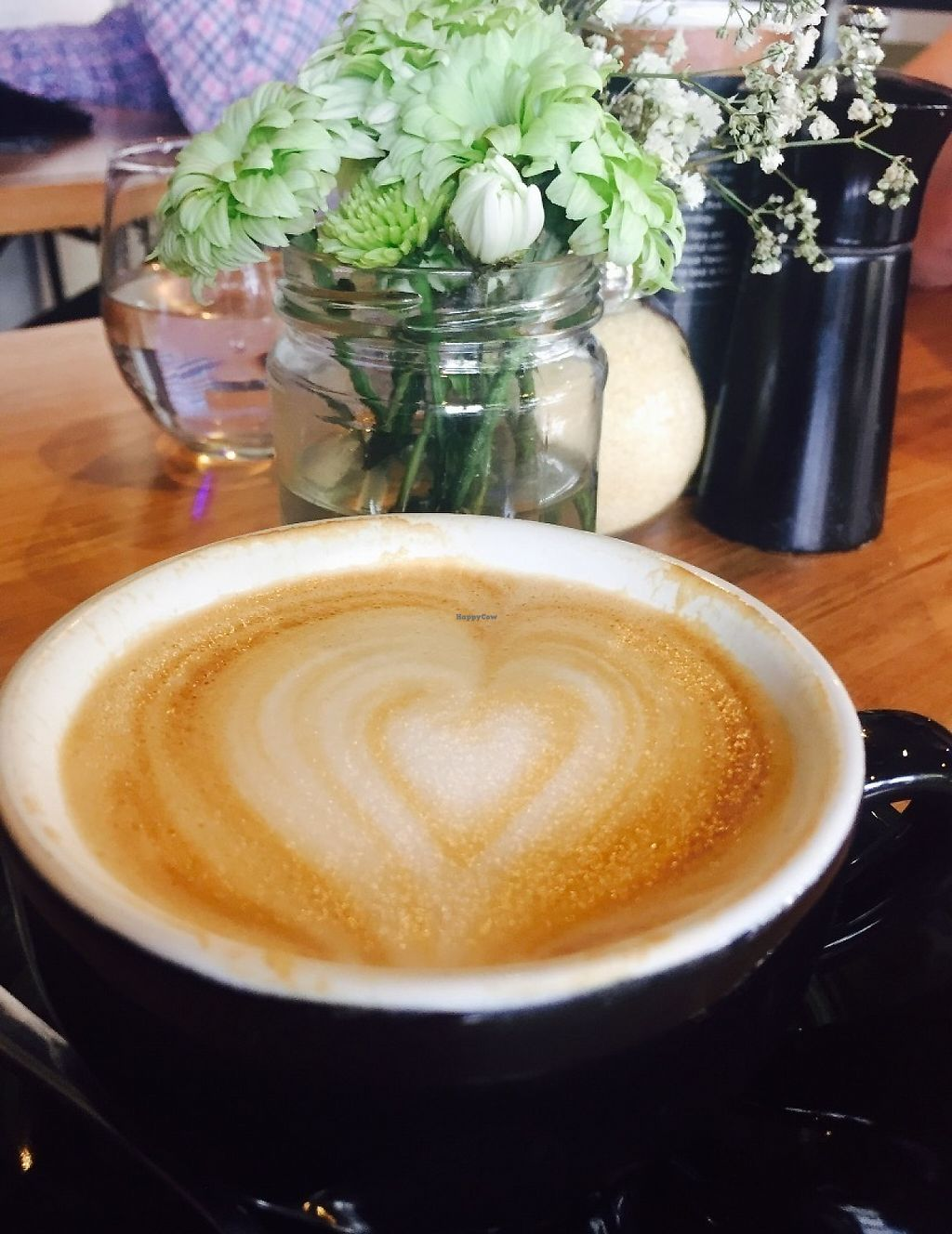 """Photo of Reunion Cafe  by <a href=""""/members/profile/karlaess"""">karlaess</a> <br/>Almond flat white <br/> May 20, 2017  - <a href='/contact/abuse/image/91301/260538'>Report</a>"""