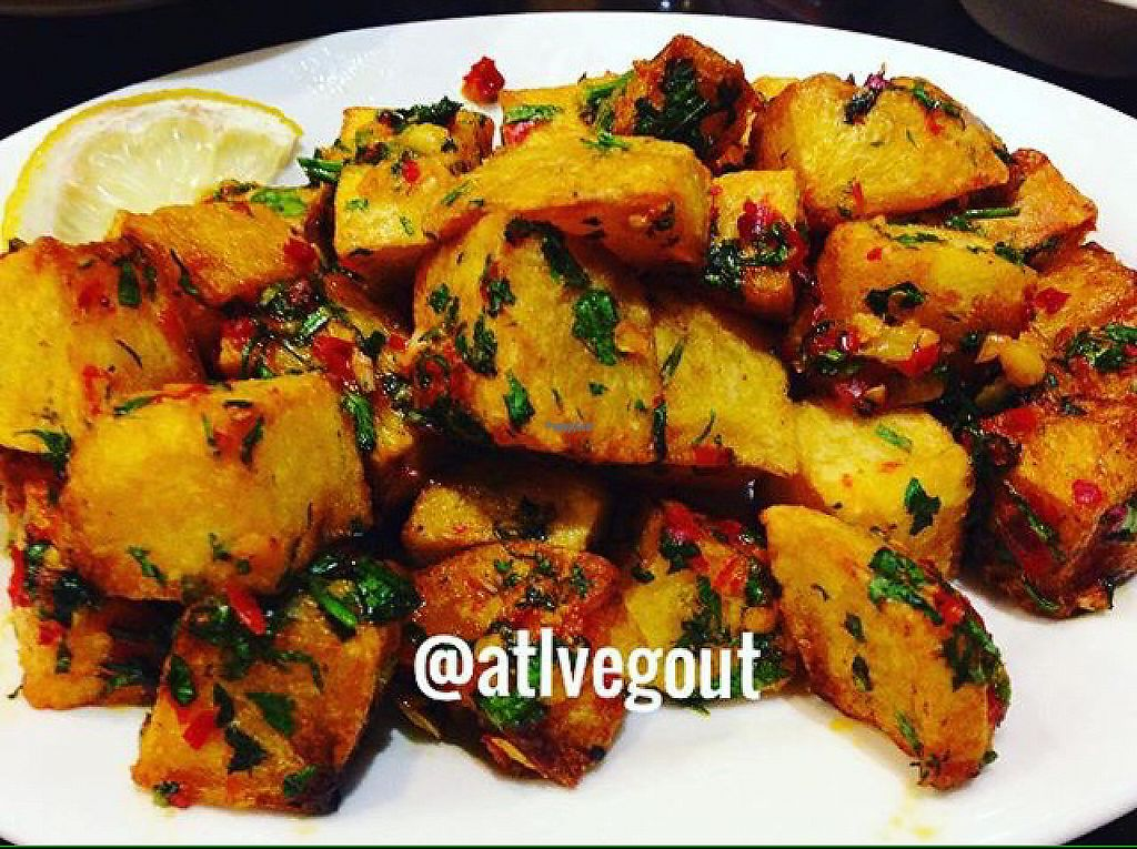 """Photo of Bab Tooma  by <a href=""""/members/profile/calamaestra"""">calamaestra</a> <br/>coriander potatoes  <br/> April 29, 2017  - <a href='/contact/abuse/image/91338/253825'>Report</a>"""