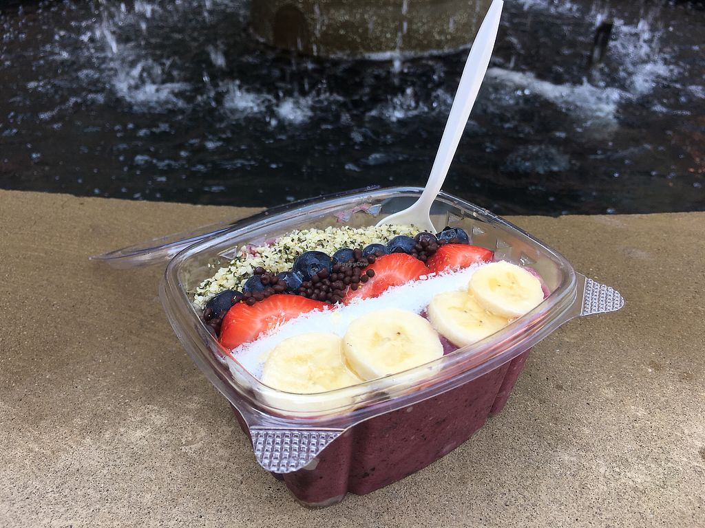 """Photo of Juiceheads ATL  by <a href=""""/members/profile/sarahpearcy"""">sarahpearcy</a> <br/>Açaí Bowl <br/> January 2, 2018  - <a href='/contact/abuse/image/91379/342142'>Report</a>"""