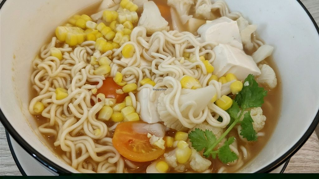 """Photo of Simple Lifestyle Healthy Vegetarian Cafe  by <a href=""""/members/profile/JimmySeah"""">JimmySeah</a> <br/>tom yam noodles  <br/> January 3, 2018  - <a href='/contact/abuse/image/91391/342602'>Report</a>"""