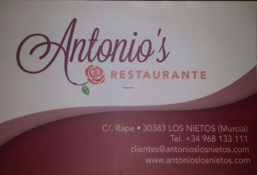 "Photo of Antonio's Restaurant  by <a href=""/members/profile/Maes"">Maes</a> <br/>Antonio's Restaurante <br/> May 1, 2017  - <a href='/contact/abuse/image/91416/254593'>Report</a>"